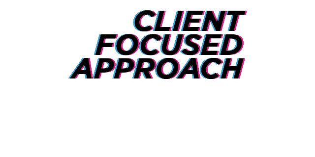 "Client focused approach ""Enable, Advise and Implement"""